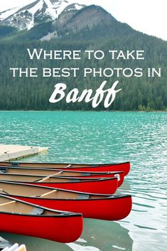 Banff National Park is one of the most beautiful places in the world! Use this photography guide to discover 15 amazing spots to take photos in Banff! Banff Photography, Photography Guide, Travel Photography, Banff National Park Canada, Banff Canada, Alberta Canada, Jasper Alberta, Banff Alberta, Lake Agnes Tea House
