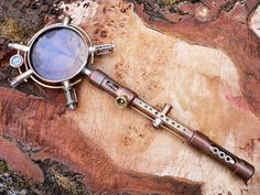Steampunk Magnifying Glass by WolfPens on Etsy