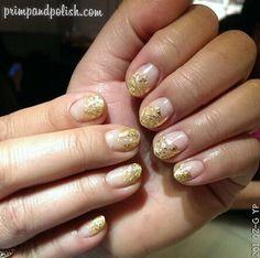 Modern Metallics - I kinda wanna try a silver glitter gradient over a light pink.