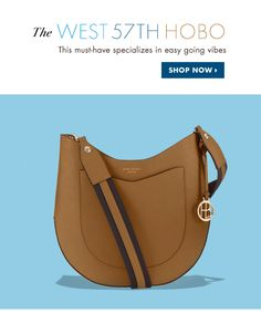 THE WEST 57TH HOBO. SHOP NOW