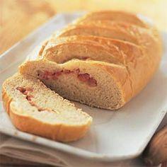 Ham-and-Swiss Stromboli | MyRecipes.com