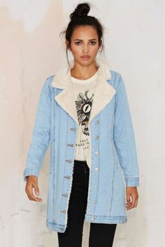 Huntress Denim Jacket - Jackets + Coats