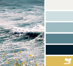 { color sea } image via: @LBTOMA  #colorpalette #color #palette #pallet #colour #colourpalette #design #seeds #designseeds