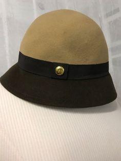 ffa023f0aaf Calvin Klein Dip Dye Camel   Brown Wool Hat O S NWT  CalvinKlein  Bucket   Casual