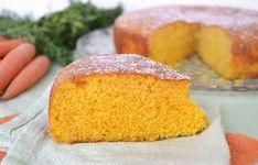 Gâteau aux carottes avec Thermomix, recette d'un savoureux gâteau goûteux et très moelleux, facile et simple à réaliser pour un goûter gourmand des enfants.