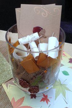 Thanksgiving Craft: 'Conversation Starter' Centerpiece