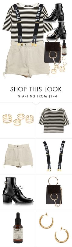 """""""Untitled #10754"""" by nikka-phillips ❤ liked on Polyvore featuring TIBI, Chanel, Chloé, Le Labo and Maison Margiela"""