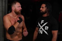 """""""Where were you out there?"""" - #DeanAmbrose to @wwerollins #Raw #WWE Dean Ambrose Seth Rollins, Wwe Seth Rollins, Seth Freakin Rollins, Renee Young Wwe, Wrestlemania 29, Wwe Funny, The Shield Wwe, Wwe Roman Reigns, Royal Rumble"""