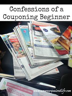 Confessions of a Couponing Beginner-Check out 4 easy ways to save money using coupons. I promise they don't take a long time!