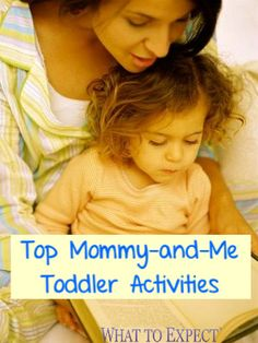 Spend time with your teeny tot doing activities you'll both love!