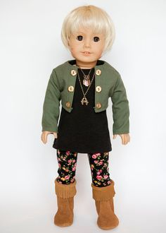 Hey, I found this really awesome Etsy listing at https://www.etsy.com/listing/205430122/american-girl-doll-military-style