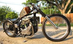 BSA a65 | Bobber Inspiration - Bobbers and Custom Motorcycles | xultimatumx July 2014