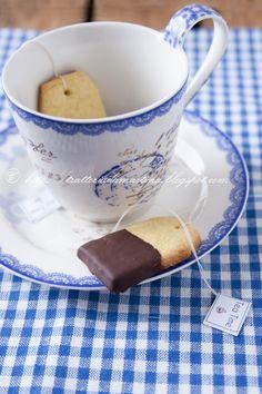 cookie tea bags