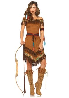Leg Avenue Native Princess Costume #Pocahontas #Disney #Indian