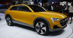 Audi's hydrogen car fills up in 4 minutes and gets 372 miles of range.