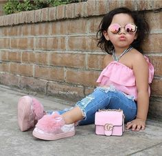 Discover recipes, home ideas, style inspiration and other ideas to try. Baby Kind, Cute Baby Girl, Cute Little Girls, Cute Kids, Little Girl Fashion, Toddler Fashion, Kids Fashion, Outfits Niños, Style Outfits