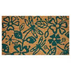 Pondside Dragonflies Doormat