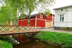 See 70 photos and 4 tips from 2834 visitors to Rauma. Wooden Architecture, Scandinavian Home, Contemporary Design, The Neighbourhood, Beautiful Places, Places To Visit, Outdoor Structures, Country, House Styles
