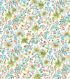 DS Quilts Collection Fabric-Fancy Free Floral & premium quilting fabric at Joann.com