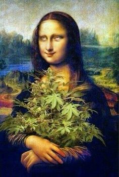 Mona Lisa knows: you can eat your cannabis! Make your own delicious Dragon Teeth mints or Cannabis chocolates; small candies you can take and use anytime, any place! MARIJUANA - Guide to Buying, Growing, Harvesting, and Making Medical Marijuana Oil and Delicious Candies to Treat Pain and Ailments by Mary Bendis, Second Edition. Just $2.99 for great e-book! www.muzzymemo.com