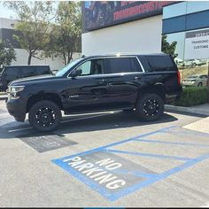 2015 Chevrolet Tahoe lifted