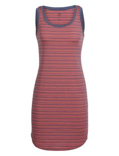 Cool-Lite Yanni Tank Dress | A sporty summer dress made with our Cool-Lite™ fabric for active, movement-intensive days, the Yanni Tank Dress combines technically capable fabric with relaxed comfort. Our breathable, odor-resistant and quick-drying 160gm Cool-Lite™ jersey fabric combines soft merino wool with natural Tencel® and nylon, with a touch of Lycra® for active stretch. The relaxed fit and tank-top silhouette provides reliable, laid-back comfort, while the side split improves range of…