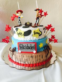 Toy Story Cake, Detalles Boutique Creativa / Boca del Río, Veracruz  Fanpage FB: https://m2.facebook.com/profile.php?id=128788760525005&ref=bookmark