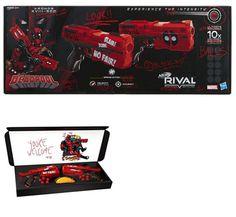 Dart Guns and Soft Darts 158749: Nerf Rival Deadpool Kronos Xviii-500 Dual  Pack