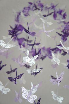 Baby Girl Nursery Decor Purple Lavender by LoveBugLullabies, $63.00