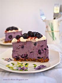 Helena's Kitchen: Blueberry Cheese Cake