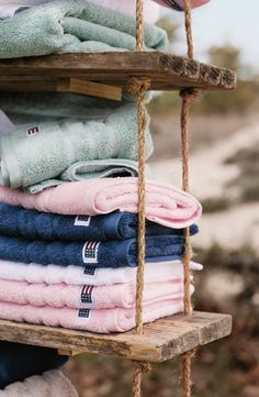 Towels from Lexington Spring 2015 Collection.