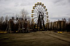 abandoned cities | The Abandoned City of Pripyat/Chernobyl Nuclear Plant | black owl