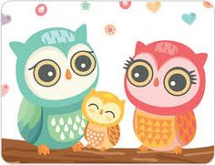 Buy these gorgeous Owl Wall Stickers for your little girls room Owl Clip Art, Owl Art, Wall Stickers Cats, Family Stickers, Little Presents, Owl Family, Owl Cartoon, Owl Always Love You, Owl Crafts