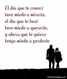No te quiero perder Spanish Quotes, Ecards, Love, Reading, Ahs, Amor Quotes, Pretty Images, Words, Funny Love