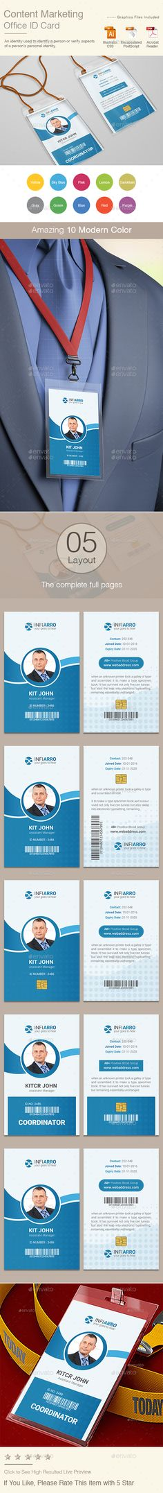 Template-for-Identification-Card ID Badge Pinterest Template - id card template