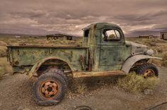 Abandoned Truck, Ballarat,California