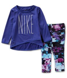 b4801bef7 Shop for Nike Baby Girls 12-24 Months Crossover Tunic &  Sublimation-Printed