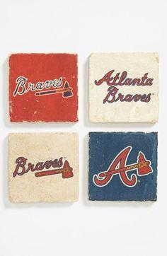 'Atlanta Braves' Marble Coasters (Set of 4) | Nordstrom @Mary Powers Ellen Wittenmeier