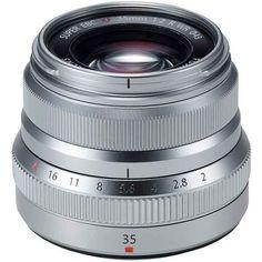 #Camerasdirect is #Fuji #Australia authorised - FUJINON XF 35mm F2 R WR Lens - Silver - Fuji Australia Warranty