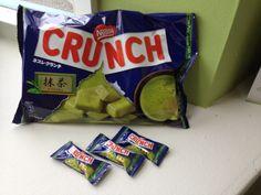 Matcha Crunch Bars.