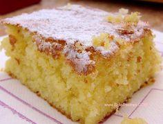 Torta riquísima de naranja