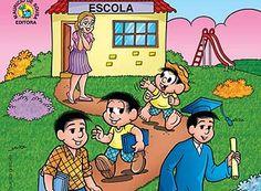 Turma da Mônica ajuda pais a acompanhar a educação dos filhos