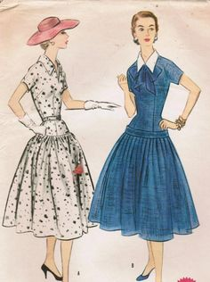Vintage 1955 McCall's 3146 Sewing Pattern by midvalecottage, $12.00