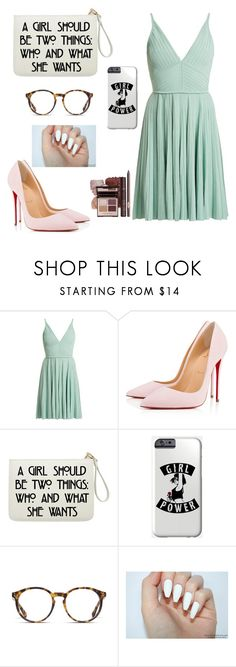 """Untitled #599"" by mugglebornprincess ❤ liked on Polyvore featuring Elie Saab, Christian Louboutin and O'Neill"