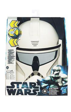 Clone Trooper Helm mit Sound #StarWars #StarWarsMask #StormtrooperMask #Stormtrooper #StormtrooperHelmet