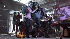 Mass Effect - Fallout by Rukiisuta on DeviantArt Mass Effect Garrus, Mass Effect Art, Mass Effect Universe, Commander Shepard, My Fantasy World, Fantasy Art, Graphic Wallpaper, Lord, Childproofing