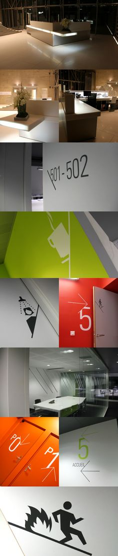 MOSWO | le privé | Legendre | siège | espace | signalétique | design