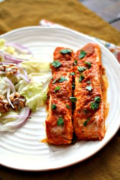 Indian Spiced Roast Salmon