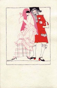835. Maria Likarz - Wiener Werkstatte postcard