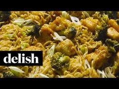 Best Sesame Chicken Ramen Skillet Recipe - Delish.com